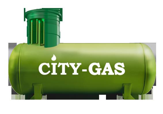 Автономная газификация на базе газгольдера City-gas объемом 6 400 л